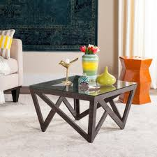 dark gray coffee table zuo existential gold coffee table 100699 the home depot