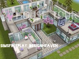 sims freeplay house tour window mansion youtube