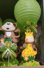centerpieces for baby showers attractive ideas safari centerpieces plain decoration baby shower