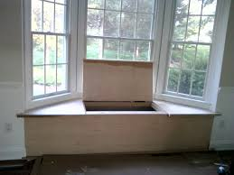 How To Build A Window Seat In A Bay Window - diy bay window seat with storage do it your self