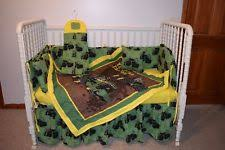 Tractor Crib Bedding Deere Crib Bedding Ebay