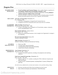 Resume Samples Volunteer Positions by Volunteer Coordinator Resume Sample Resume For Your Job Application