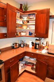 How To Put In Kitchen Cabinets Corner Kitchen Cabinet Ideas Ppi