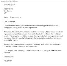 thank you letter after second interview group u2013 letter format
