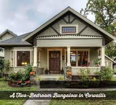 Craftsman Style Bungalow A Craftsman Bungalow In Oregon Craftsman Bungalows Smallest