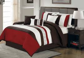 Red And Brown Bedroom Decor Wall Colors For Bedrooms With Dark Furniture Plain White Ceiling