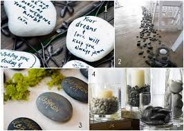 signing rocks wedding guest book i think you should do something creative like this for the guest
