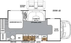 Coachmen Class C Motorhome Floor Plans New 2016 Coachmen Rv Prism 2200 Le Motor Home Class C Diesel At