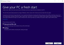 how to reinstall windows 10 without any bloatware pcworld