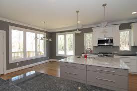 two kitchen islands contemporary river house u2013 north carolina builder u2013 stanton homes