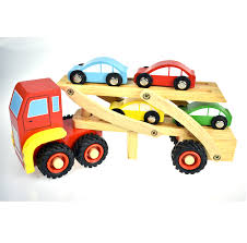 wooden car wooden car carrier wooden toys toy trucks toy cars truck toys
