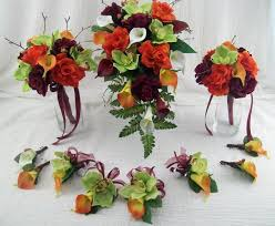 wedding flowers ebay fall wedding flowers destination wedding cascade bridal bouquet