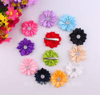 Flower Clips For Hair - wholesale fabric flower hair clips buy cheap fabric flower hair