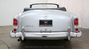 1959 mercedes benz 220s cabriolet beverly hills car club