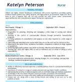 Nursing Resume Template Free Rn Nurse Sample Resume Experience Providing Quality Care Of