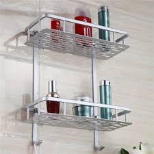 Bathroom Shower Organizers Bathroom Shelves Space Alumimum 1 2 3 Tier Home Kitchen Bathroom