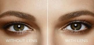 Light Brown Contact Lenses 1 Day Acuvue Define Brand Contact Lenses Vistakon