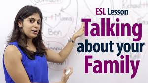 how to talk about your family lesson free esl lessons