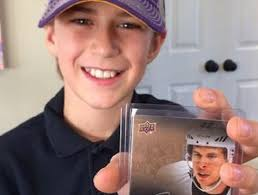 sidney crosby birthday card my was going burlington kid finds limited edition