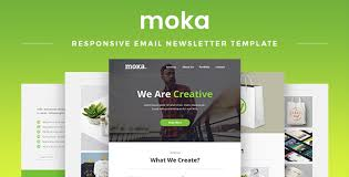 free download moka responsive email newsletter template