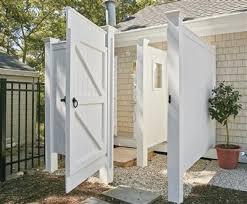 custom outdoor shower enclosures walpole outdoors