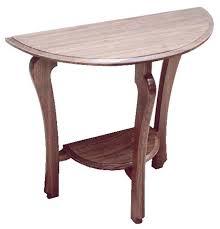 half moon table canadian woodworking magazine