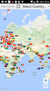 map all all country flags in map android apps on play