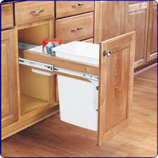 trash can attached to cabinet door pull out trash cabinet doors kitchen