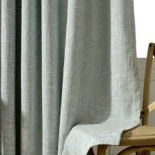 Luxury Linen Curtains Aliexpress Com Buy Modern Solid Linen Curtains For Living Room