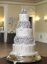 wedding cakes with rhinestones food photos