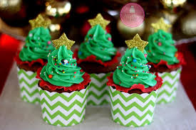make easy christmas tree cupcakes youtube