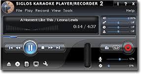 siglos karaoke player recorder 2 karaoke player recorder software