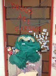 51 halloween door decorations not scary monsters decor skeleton