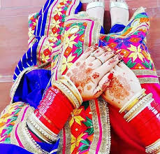 buy punjabi wedding chura from shahi handicraft ambala india