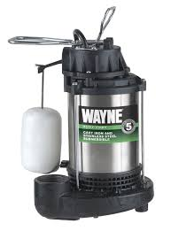 wayne cdu980e 3 4 hp submersible cast iron and stainless steel