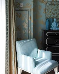 Blue And Gold Curtains Blue Gold And Black Bedroom Asian Bedroom