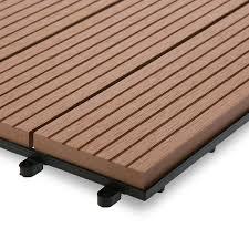 wood plastic composite deck tiles wpc garden winds