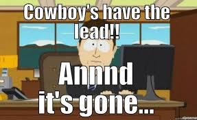 Cowboys Suck Memes - cowboys suck quickmeme