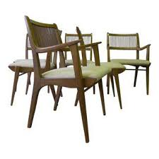 Mid Century Modern Dining Chairs Vintage Vintage U0026 Used Dining Table U0026 Chair Sets Chairish