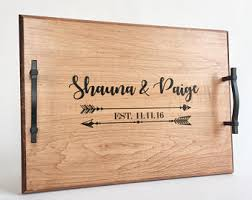 personalized tray personalized serving tray serving tray personalized wedding