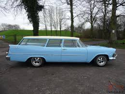 blue station wagon 1957 plymouth custom suburban 2 door station wagon