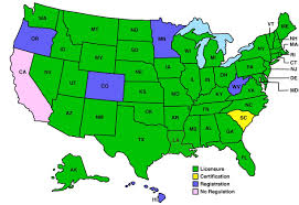 Delaware Map Usa by State Regulatory Boards