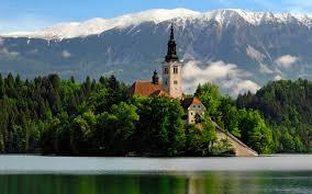 slovenia lake slovenia fragments