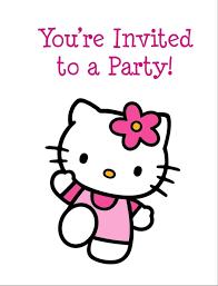 hello kitty birthday invitations themesflip com