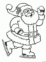 printable santa claus coloring page printable santa claus coloring