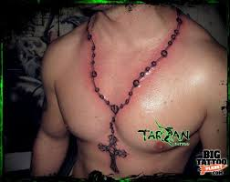 52 rosary tattoos for