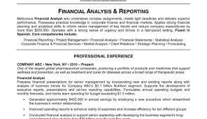 resume finance resume arresting finance manager resume format