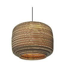 Paper Pendant Lighting Brown Basket Lampshade Pendant Lights Paper Pendant Lamp For Bar