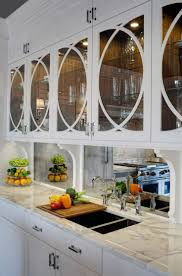 mirror kitchen backsplash amazing luxury home design