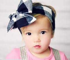 baby girl headwraps fashion baby headwraps top knot solid color big bow headband